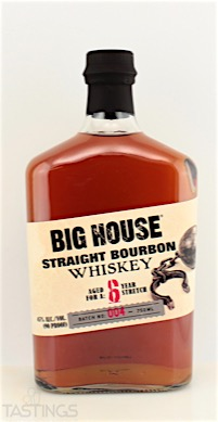 Big House Straight Bourbon Whiskey