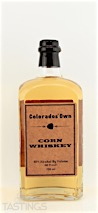 Colorado Gold Colorados Own Corn Whiskey