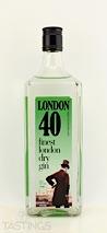 London 40 London Dry Gin