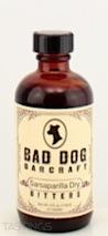 """Bad Dog Bar Craft Sarsaparilla """"Dry"""" Bitters"""