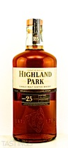 Highland Park 25 Year Old Single Malt Scotch Whisky