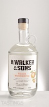 H. Walker & Sons Peach Moonshine