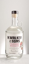 H. Walker & Sons Srawberry-Rhubarb Moonshine