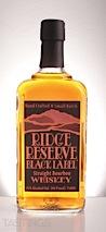 Ridge Reserve Black Label Straight Bourbon Whiskey