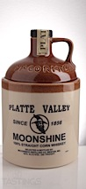 Platte Valley Straight Corn Whiskey Moonshine