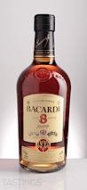Bacardi Ron 8 Años Rum