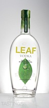 LEAF Vodka made from Alaskan Glacial Water