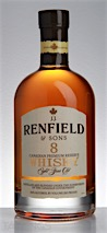J.J. Renfield & Sons 8 Year Old Canadian Premium Reserve Whisky