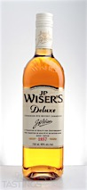 J.P. Wisers Deluxe Canadian Rye Whisky