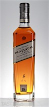 Johnnie Walker 18 Year Old Platinum Label Blended Scotch Whisky