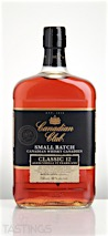 Canadian Club Small Batch Classic 12 Year Old Canadian Whisky