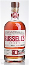 Russells Reserve 10 Year Old Kentucky Straight Bourbon Whiskey