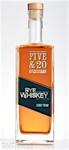 Five & 20 Spirits Rye Whiskey