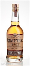 Ranger Creek Rimfire Mesquite Smoked Single Malt Whiskey