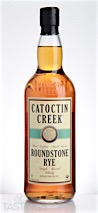 Catoctin Creek Roundstone Rye Whiskey