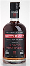 Battle Cry Single Malt Whiskey Finished in Oloroso Sherry Barrels