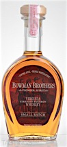 Bowman Brothers Small Batch Bourbon Whiskey