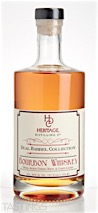 "Heritage Distilling Co. ""Dual Barrel"" Bourbon Whiskey"