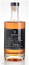 "Heritage Distilling Co. ""Dual Barrel"" Rye Whiskey"