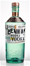 D. George Benham's Vodka