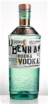D. George Benham's Vodka