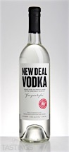 "New Deal Distillery ""From Grain to Glass"" Wheat Vodka"