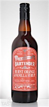 Crawley's Burnt Orange & Vanilla Syrup