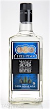 Tres Pesos Silver Tequila