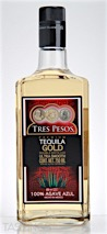 Tres Pesos Gold Tequila