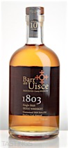 "Barr an Uisce ""1803"" 10 Year Old Single Malt Irish Whiskey"