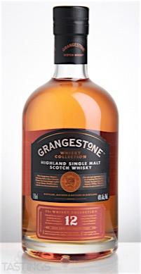 grangestone 12 year old single malt scotch whisky scotland spirits
