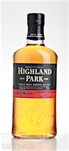Highland Park 18 Year Old Single Malt Scotch Whisky