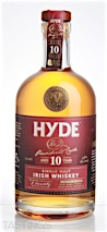 Hyde 10 Year Old Rum Finish Single Malt Irish Whiskey
