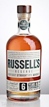 Russells Reserve 6 Year Old Kentucky Straight Rye Whiskey
