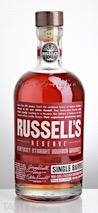 Russells Reserve Single Barrel Kentucky Straight Bourbon Whiskey