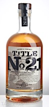 Title No. 21 American Whiskey