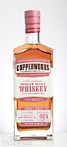 Copperworks Distilling Company American Single Malt Whiskey