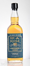R.M. Rose Single Barrel Bourbon Whiskey