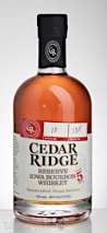 Cedar Ridge Reserve Iowa Bourbon Whiskey