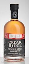 Cedar Ridge Single Malt Whiskey