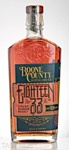 Boone County Eighteen 33 Straight Bourbon Whiskey