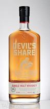 Devils Share Single Malt Whiskey