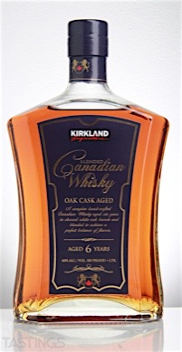 Kirkland Signature Blended Canadian Whisky Canada Spirits
