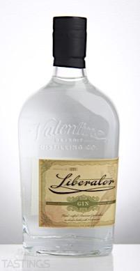 Valentine Liberator Gin Usa Spirits Review Tastings