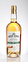 West Cork 10 Year Single Malt Irish Whiskey