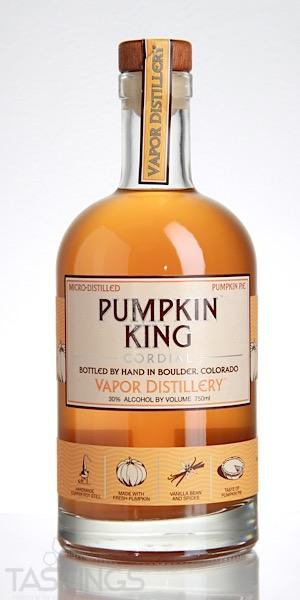 Vapor Distillery Pumpkin King Cordial Liqueur Usa Spirits Review