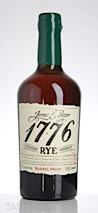 1776 Barrel Proof Straight Rye Whiskey