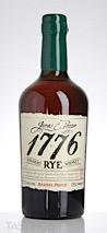 1776 Barrel Proof Straight Rye Whiskey