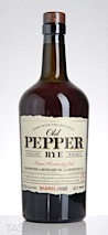 Old Pepper Finest Kentucky Oak Straight Rye Whiskey