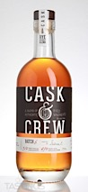 Cask & Crew Straight Rye Whiskey